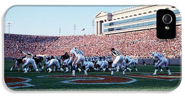 Football Game, Soldier Field, Chicago IPhone 5s Case by Panoramic Images