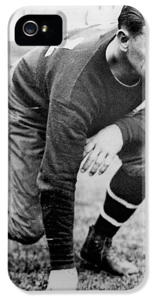 Football iPhone 5s Case - Football Player Jim Thorpe by Underwood Archives