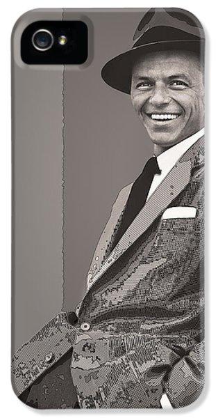 Frank Sinatra IPhone 5s Case by Daniel Hagerman