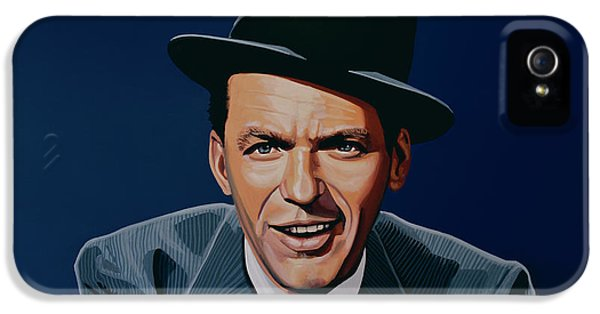 Jazz iPhone 5s Case - Frank Sinatra by Paul Meijering