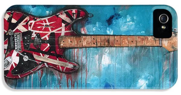 Eric Clapton iPhone 5s Case - Frankenstrat by Sean Parnell