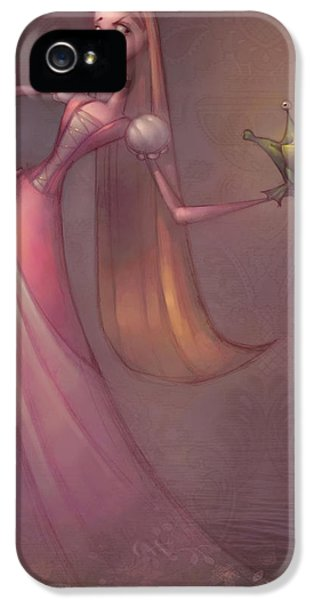 Amphibians iPhone 5s Case - Frog Prince by Adam Ford