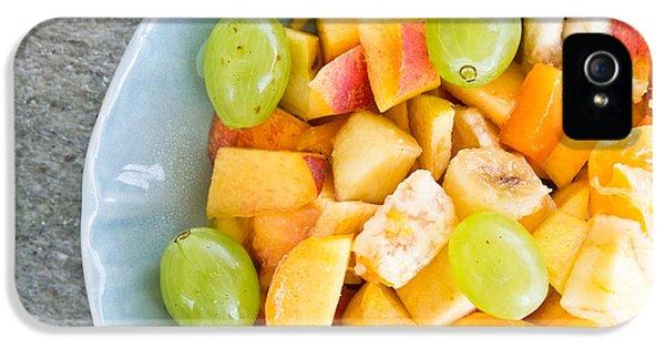 Mango iPhone 5s Case - Fruit Salad by Tom Gowanlock