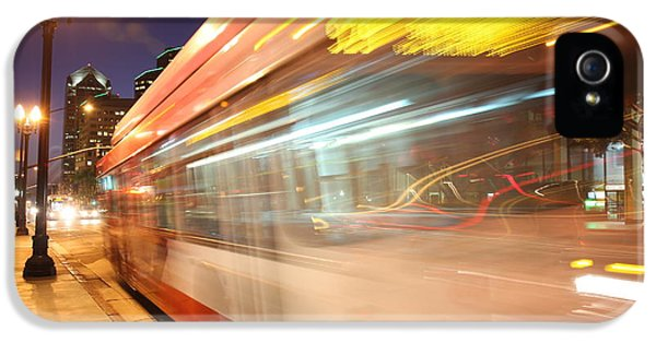 IPhone 5s Case featuring the photograph Fun At The Bus Stop by Nathan Rupert