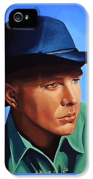 Saxophone iPhone 5s Case - Garth Brooks by Paul Meijering