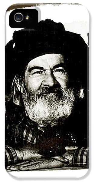 George Hayes Portrait #1 Card IPhone 5s Case
