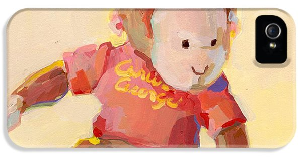 Banana iPhone 5s Case - George by Kimberly Santini