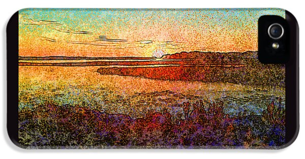 Georgian Bay Sunset IPhone 5s Case
