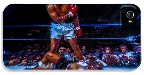 Sonny iPhone 5s Case - Get Up And Fight Sucker by Brian Reaves