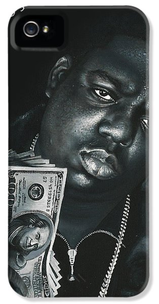 Biggie iPhone 5s Case - Gimme The Loot by Peter Perlegas
