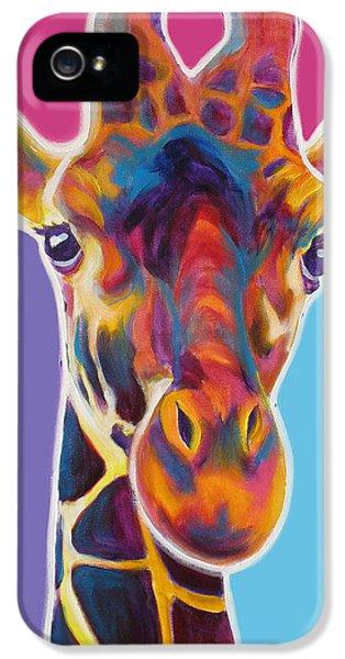 Giraffe - Marius IPhone 5s Case by Alicia VanNoy Call