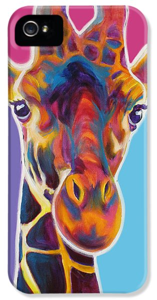 Giraffe - Marius IPhone 5s Case by Alicia VanNoy Call