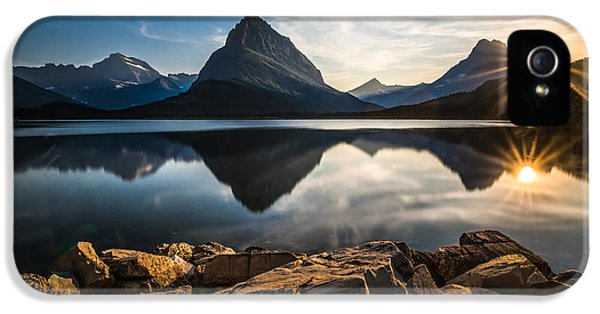 Glacier National Park IPhone 5s Case by Larry Marshall