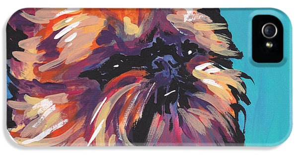 Griffon iPhone 5s Case - Go Griff by Lea S