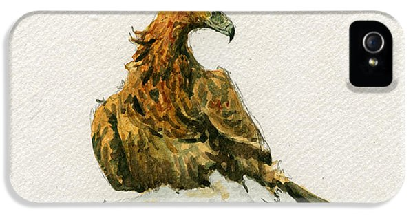 Eagle iPhone 5s Case - Golden Eagle Aquila Chrysaetos by Juan  Bosco