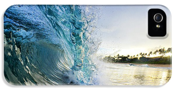 Beach iPhone 5s Case - Golden Mile by Sean Davey