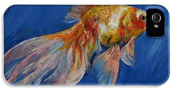 Goldfish IPhone 5s Case by Michael Creese