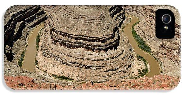 Goosenecks - San Juan River IPhone 5s Case by Christine Till