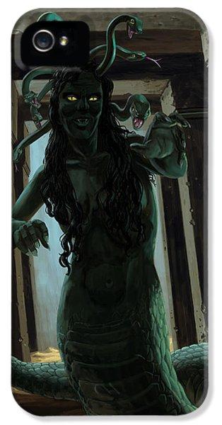 Gorgon Medusa IPhone 5s Case by Martin Davey
