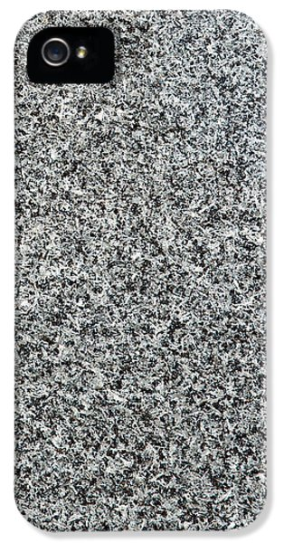 Gray Granite IPhone 5s Case by Alexander Senin