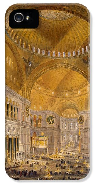 Hagia Sophia, Constantinople, 1852 IPhone 5s Case