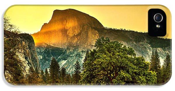Half Dome Sunrise IPhone 5s Case