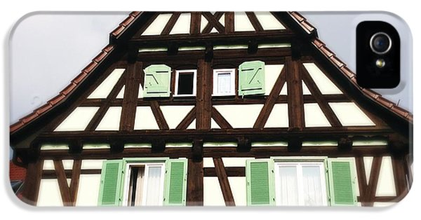House iPhone 5s Case - Half-timbered House 01 by Matthias Hauser