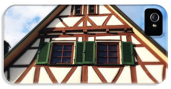 House iPhone 5s Case - Half-timbered House 02 by Matthias Hauser