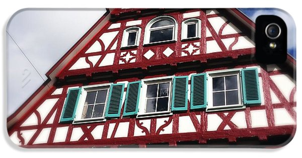House iPhone 5s Case - Half-timbered House 04 by Matthias Hauser