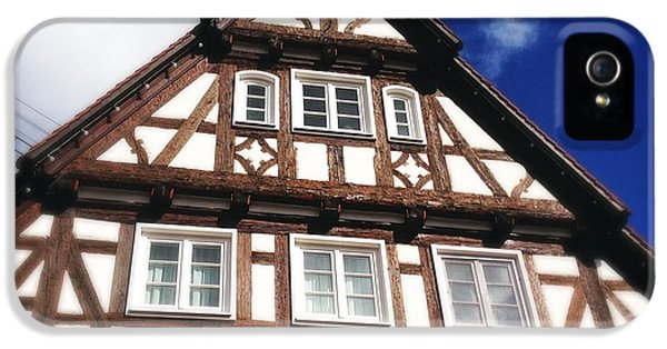 House iPhone 5s Case - Half-timbered House 08 by Matthias Hauser