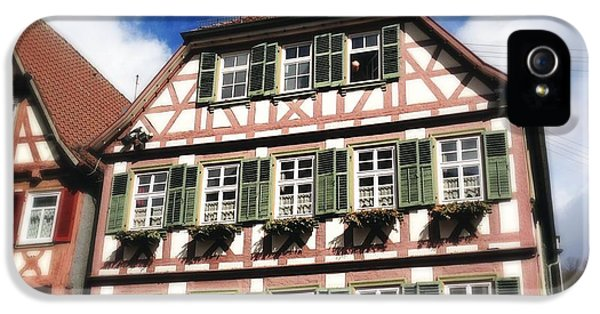 House iPhone 5s Case - Half-timbered House 11 by Matthias Hauser