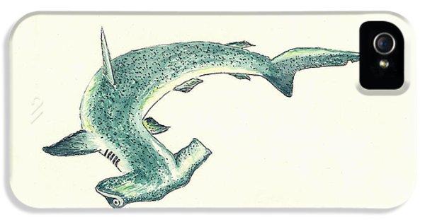 Hammerhead Shark IPhone 5s Case by Michael Vigliotti