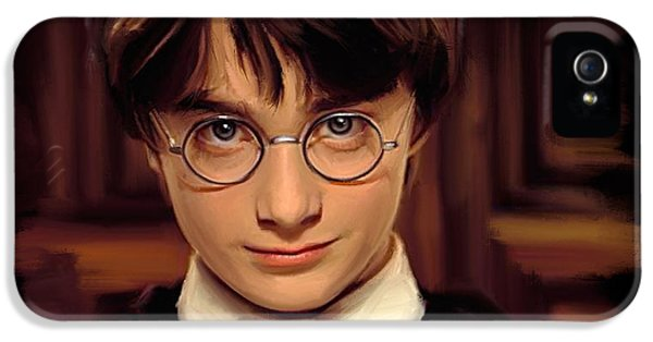 Harry Potter IPhone 5s Case by Paul Tagliamonte