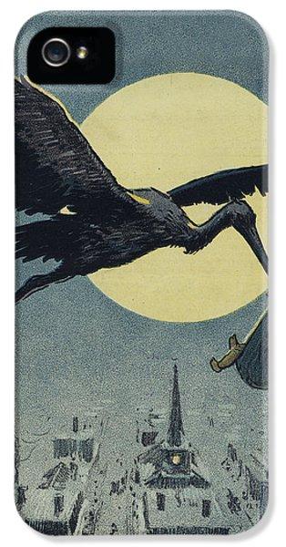 Here Comes The Stork Circa Circa 1913 IPhone 5s Case