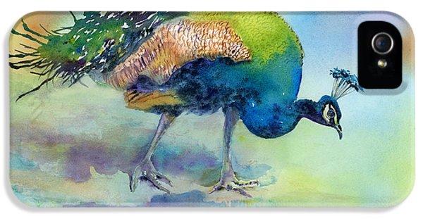 Peacock iPhone 5s Case - Hey Good Lookin by Amy Kirkpatrick