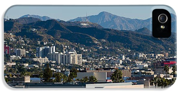 High Angle View Of A City, Beverly IPhone 5s Case by Panoramic Images