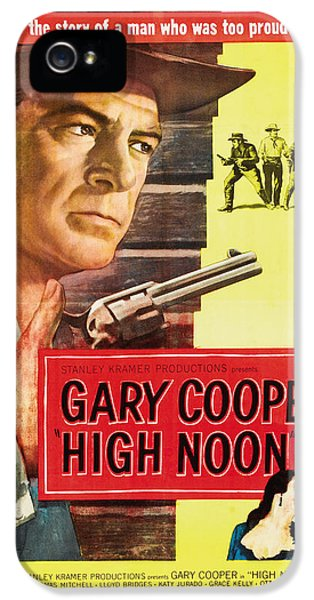 High Noon - 1952 IPhone 5s Case by Georgia Fowler