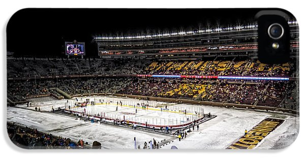 University Of Minnesota iPhone 5s Case - Hockey City Classic by Tom Gort