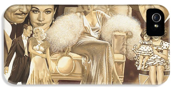 Shirley Temple iPhone 5s Case - Hollywoods Golden Era by Dick Bobnick