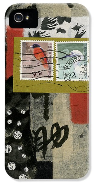 Hong Kong iPhone 5s Case - Hong Kong Postage Collage by Carol Leigh