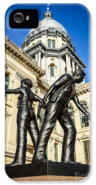 Illinois Police Officers Memorial In Springfield IPhone 5s Case