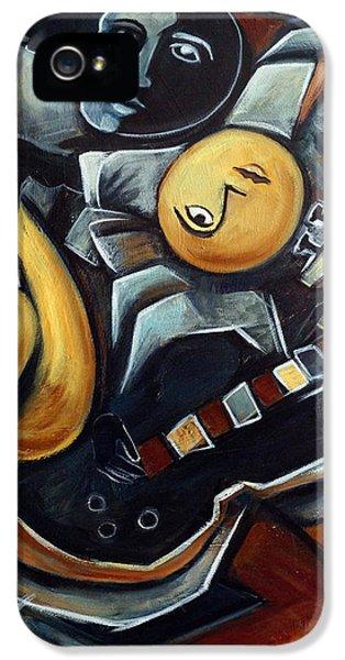 Indigo Blues IPhone 5s Case by Valerie Vescovi