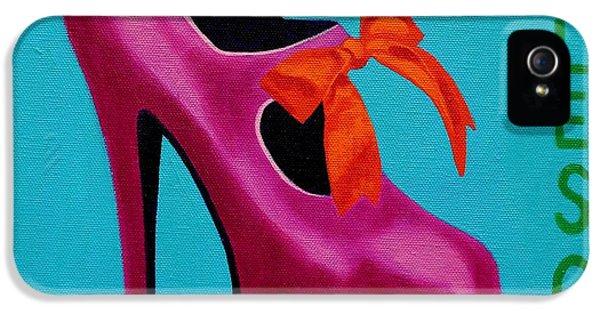 Irish Burlesque Shoe    IPhone 5s Case by John  Nolan