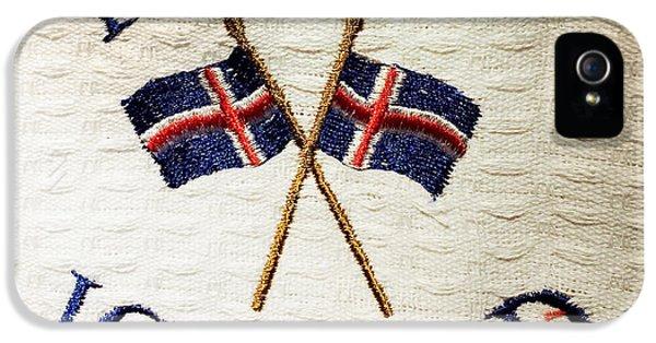 Detail iPhone 5s Case - Island Iceland by Matthias Hauser