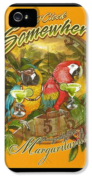 It's 5 O'clock Somewhere IPhone 5s Case by Desiderata Gallery