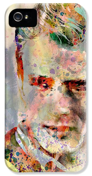 James Dean IPhone 5s Case by Mark Ashkenazi