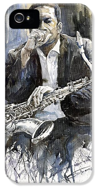 Jazz Saxophonist John Coltrane Yellow IPhone 5s Case