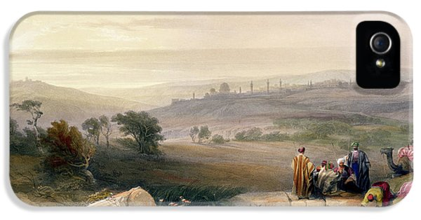Jerusalem, April 1839 IPhone 5s Case by David Roberts