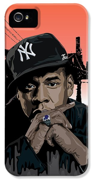 Jigga IPhone 5s Case by Lawrence Carmichael