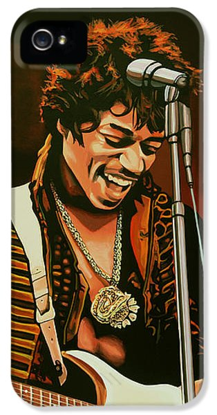 Jimi Hendrix Painting IPhone 5s Case